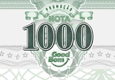 Cadastrar Promoção GoodBom Nota de Mil