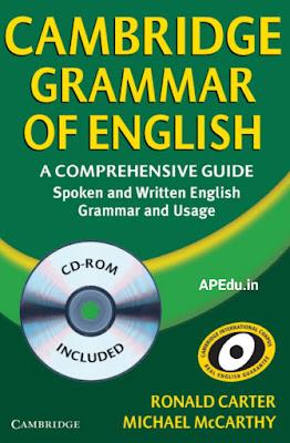 Spoken English CAMBRIDGE GRAMMAR OF BOOK.