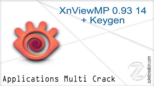 XnViewMP 0.93 14 + Keygen