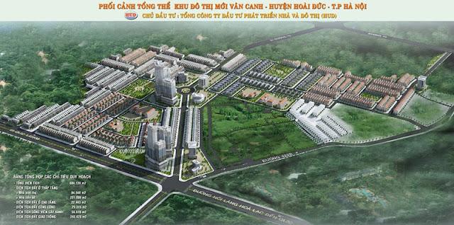 Phối cảnh khu đô thị Vân Canh Hud