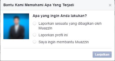 Melaporkan Akun Palsu di Facebook