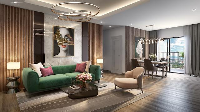nội thất chung cư tecco elite city thái nguyên