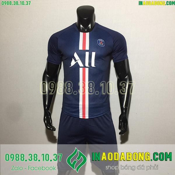 Áo bóng đá câu lạc bộ PSG 2020 màu tím than
