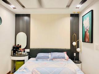 phòng ngủ căn hộ 3 phòng ngủ viva riverside quận 6