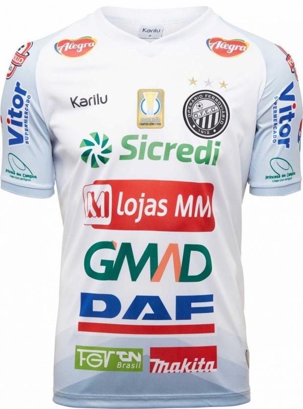 7597c92de Karilu apresenta as novas camisas do Operário de Ponta Grossa. A fabricante  de material esportivo Karilu divulgou ...