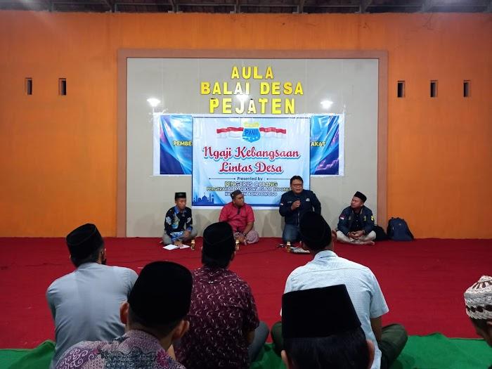 PC PMII Gelar Kegiatan Ngaji Kebangsaan Lintas Desa di Aula Pejaten Bondowoso