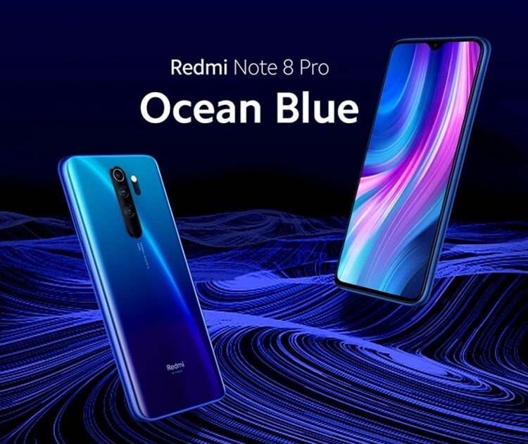 Redmi Note 8 Pro in Ocean Blue Colorway Launched