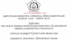 Juknis Penyusuna RPP Rencana Pelaksanaan Pembelajaran Pada Madrasah