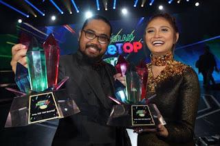 MaleTOP  Era 2016 Ayda Jebat & Johan Juara