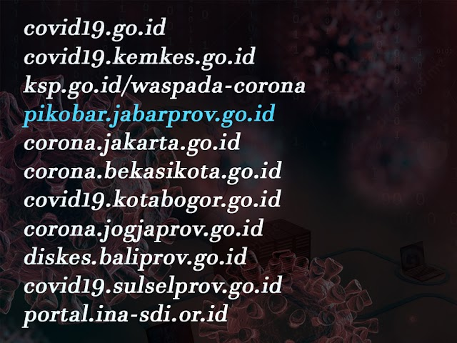 Ini, Daftar Website Resmi Pusat Informasi Penanganan Covid-19 di Indonesia