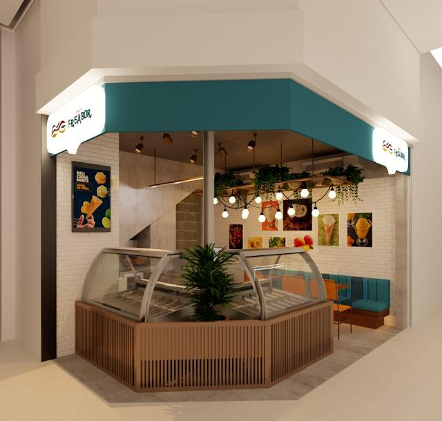 Lojas da rede FriSabor ganharão novo projeto e concepção visual assinados pela Plano A Arquitetura