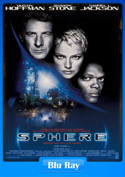 Sphere 1998 BluRay 480p 350MB x265 Poster