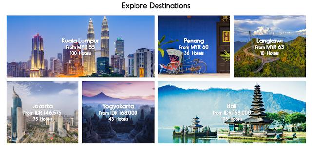 Destinasi Menarik di Asia