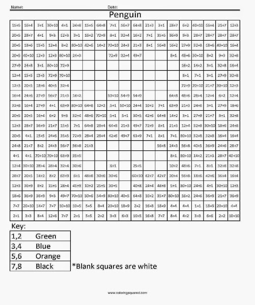 free printable math coloring worksheets. Black Bedroom Furniture Sets. Home Design Ideas