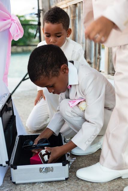 mariage Guadeloupe Gosier les enfants cortège