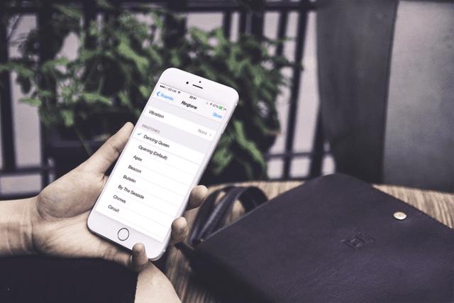 mengubah ringtones default pada iphone