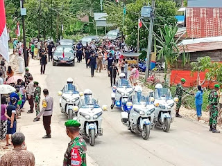 Kawal  Kunjungan Kerja Presiden RI Ke Tana Toraja, Pengamanan Ekstra Ketat