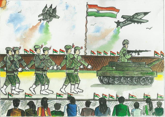 26 january drawing photo  independence day drawing  15 august drawing  january drawings  26 january drawing pictures  15 august ki drawing  new year drawing  drawing on republic day for class 4