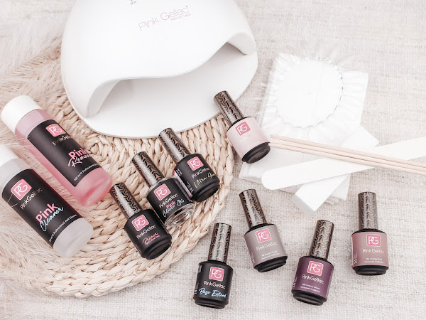 Pink Gellac Premium Vogue Starterset - Uncovered Collection