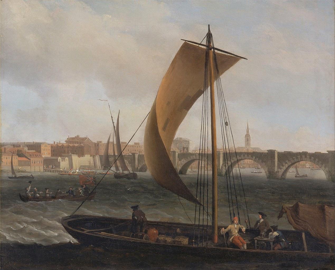 Art Artists River Thames Paintings 1650 1995 Part 1
