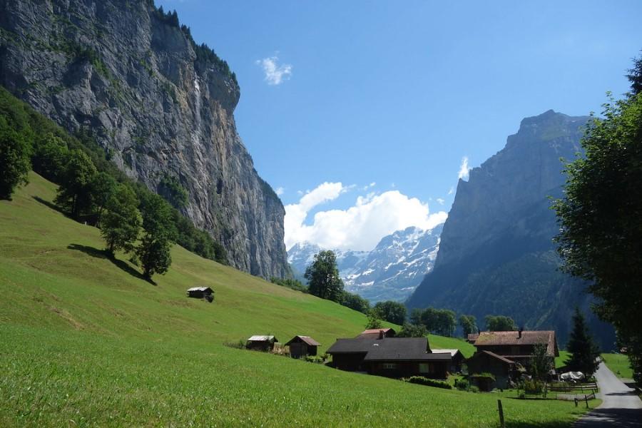 Красивые горные склоны