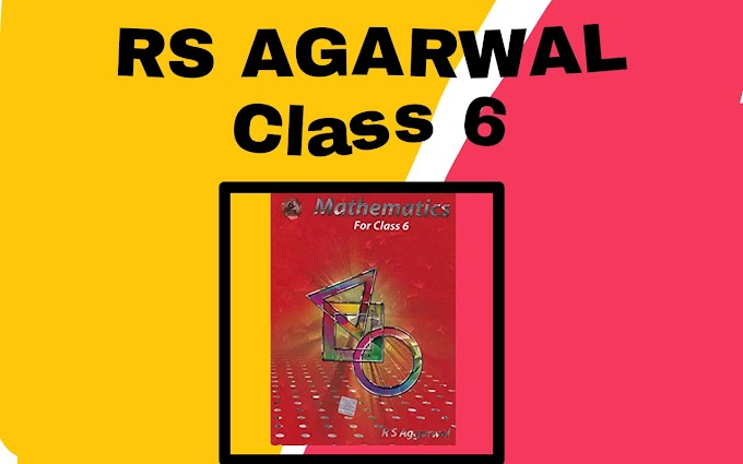 RS AGARWAL Class 6 Download PDF