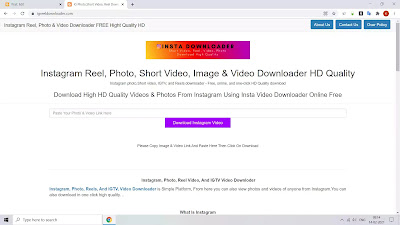 How To Download Instagram Video, Photo Reel, And More || Download Instgram Video And Photo
