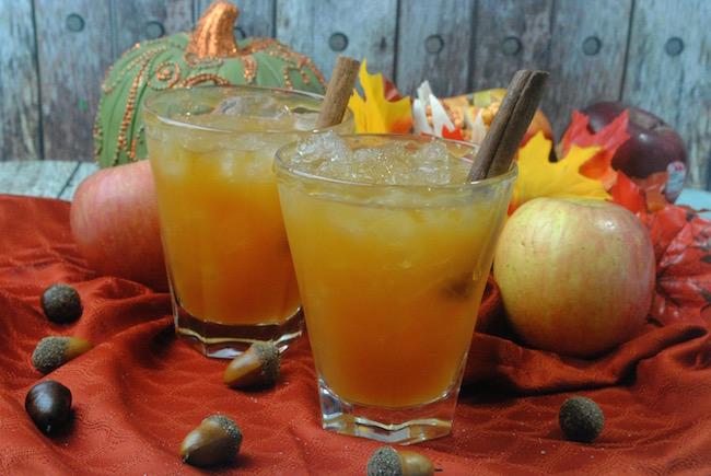 Bourbon Apple Cider Cocktail Recipe #cocktail #recipe