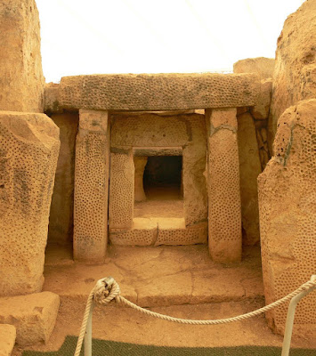 Niche at the Mnajdra South Temple,