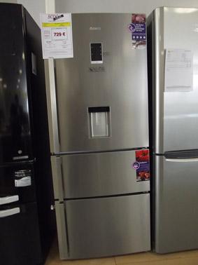 scoodeal le blog de l 39 electromenager et cuisine sur b ziers refrigerateur beko cn151920dx inox. Black Bedroom Furniture Sets. Home Design Ideas