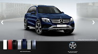 Mercedes GLC 250 4MATIC 2016 màu Xanh Cavansite 890