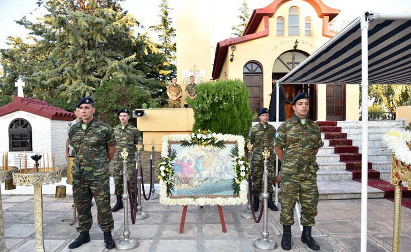Αλεξανδρούπολη: Εορτασμός Προφήτη Ηλία στο Στρατόπεδο Κανδηλάπτη