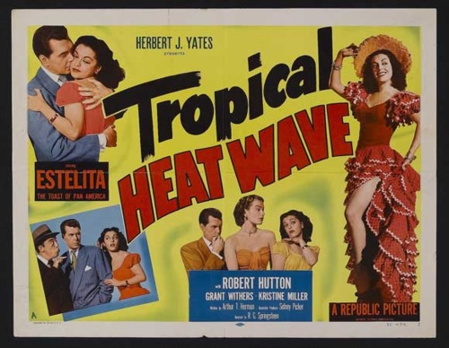 Having a heatwave a tropical heatwave