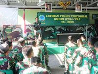 Latnister, Tingkatkan Kualitas Prajurit Kodim Yogya