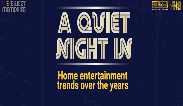 Home Entertainment Trends Over the Years #infographic