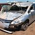 Casal foge da polícia e capota carro em Chapecó