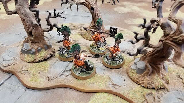 What's On Your Table: Chosen Axes of Ghyran