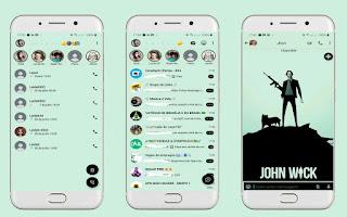 John Wick Theme For YOWhatsApp & Aero WhatsApp By Leidiane