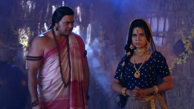 Radha krishna serial ugrapat and jatila