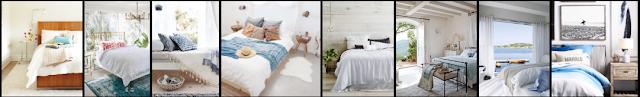 La habitación perfecta en verano, blanco y algo de madera