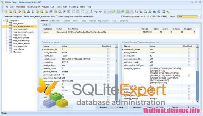 Download SQLite Expert Professional 5.3.4.445 Full Crack, phần mềm quản lý cơ sở dữ liệu tiên tiến, SQLite Expert Professional, SQLite Expert Professional free download, SQLite Expert Professional full key