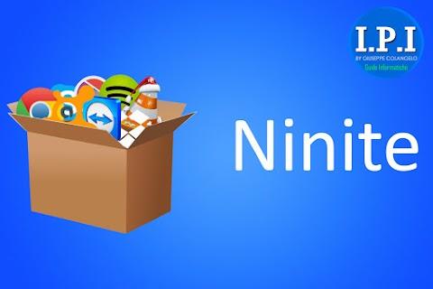 Ninite - Software multi-programma da installare dopo una formattazione PC
