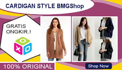 Cardigan Wanita BMGShop
