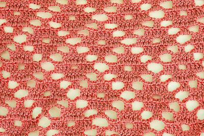 5 - Crochet Imagen Puntada a crochet de rombo muy fácil y sencilla por Majovel Crochet