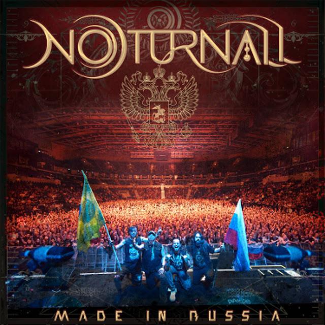 """Depois da estreia em Live com mais de 12 mil visualizações, Noturnall anuncia lançamento do show do DVD """"Made In Russia"""" na íntegra e também novo single, """"Cosmic Redemption"""""""