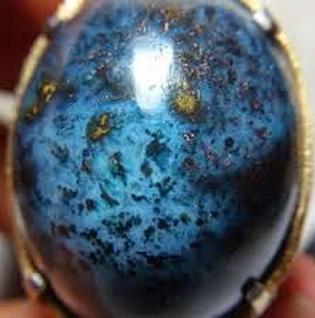 corak gurat emas blue elektrik