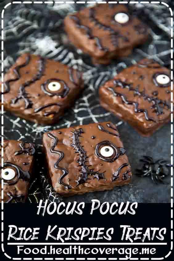 Hocus Pocus Rice Krispies Treats