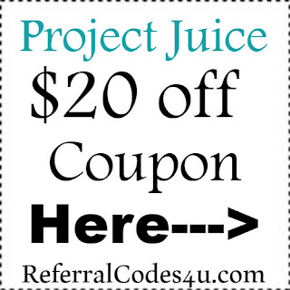 $20 off ProjectJuice Coupon Jan, Feb, March, April, May, June, July, Aug, Sep, Oct, Nov, Dec