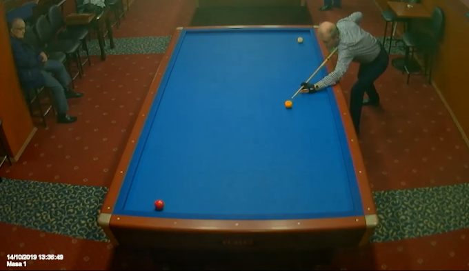 3 CUSHION: Lucky shots in the same game - video