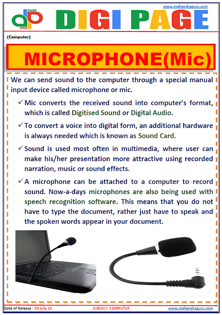 Digi Page - Microphone